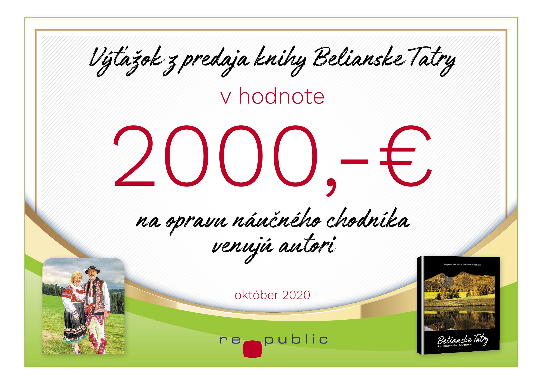 Pomoc pre Belianske Tatry